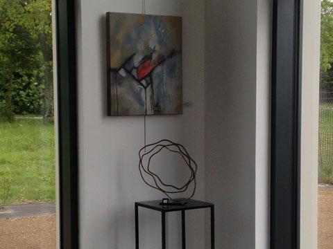 Evologis Baie vitrée et Art contemporain