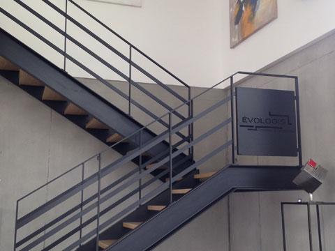 Evologis Escalier intérieur